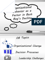 OB Presentation - Best Buy's poor Organizational Behavior