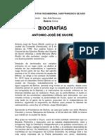 Biografias de Hombre Notables en Ecuador