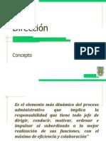 Presentación Dirección