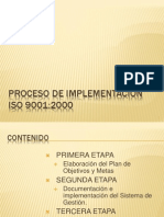 Proceso de implementaci�n ISO 9001.ppt
