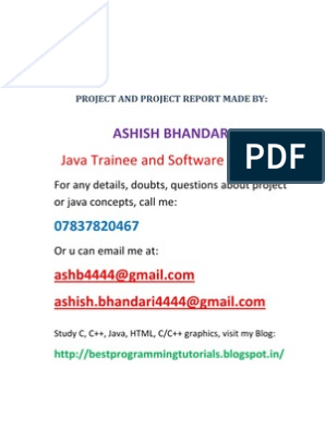 JOB Portal Project Report | Enterprise Java Beans | Java Script