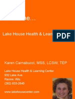 Karen Carnabucci at Lake House Health & Learning Center