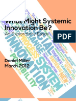 What Might Systemic Innovation Be?