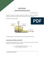 Caracterizacion de Pulpas