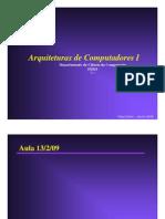 Arquitetura de Computadores I -