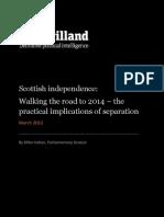 De Havilland Report on Scottish Independence