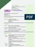 CV David Miazzo 03.13