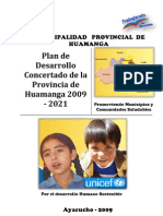 Plan Desarrollo Concertado Huamanga 2021 Actualizado 2912409
