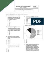 Evaluacion de Recuperacion Grado 7