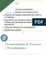 Documentación de Procesos y Procedimientos UPL