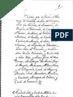 Ordenanzas Militares Carlos III
