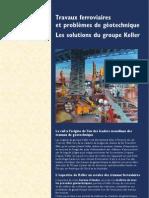 Travaux Ferroviaires - Les Solutions Du Groupe Keller