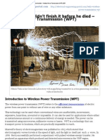 Too Bad Tesla Didn't Finish It Before He Died - Wireless Power Transmission (WPT) _ EEP