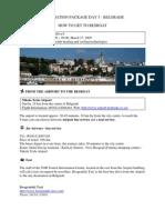 Info Package Belgrade