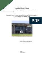 Reabilitação ambiental de edifício público moderno o caso do Palácio Itamaraty