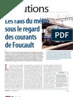 750 Ratp Rail-courant Foucault