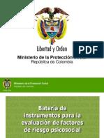 Bateria de Instrumentos de Eval de Factores de Riesgo Psicosocial - Marcela Soler