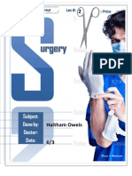 Lec#3 surgery