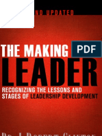 The Making of a Leader, Second Edition sample chapter