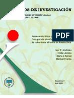 Cuaderno 9. Arrancando Mitos de Raíz. Guía para la enseñanza antirracista de la herencia africana en Puerto Rico