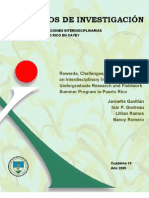 Cuaderno 10. Rewards, Challenges, and Outcomes of an Interdisciplinary InterculturalUndergraduate Research and Fieldwork Summer Program in Puerto Rico