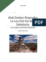 Alak Zenkar Rinpoche La Luz del Sol de la Sabiduría