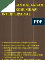 38746525 Halangan Halangan Dalam Komunikasi Interpersonal