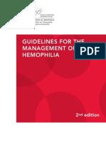 HEMOPHILIA Guidelines