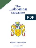 Lisbonian January 2012 PDF