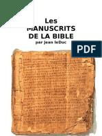 Les Manuscrits de la Bible