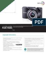 Samsung NX1100 English