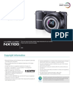 Samsung NX1100 English