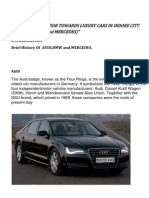 Mrp on luxury cars