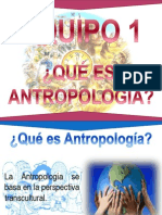 Capítulo 1 Qué es Antropología
