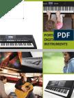 Catalogue Yamaha Music Instruments