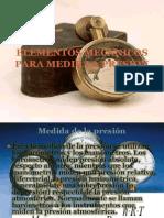 Elementos Mecanicos Para Medir La Presion