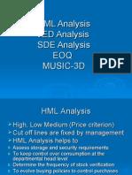 HML Analysis