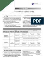 Precisiones Sobre El Deposito de CTS ECB