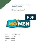 Mo'Men Repositioning Summary