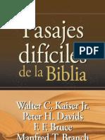 Pasajes difíciles de la Biblia - demo