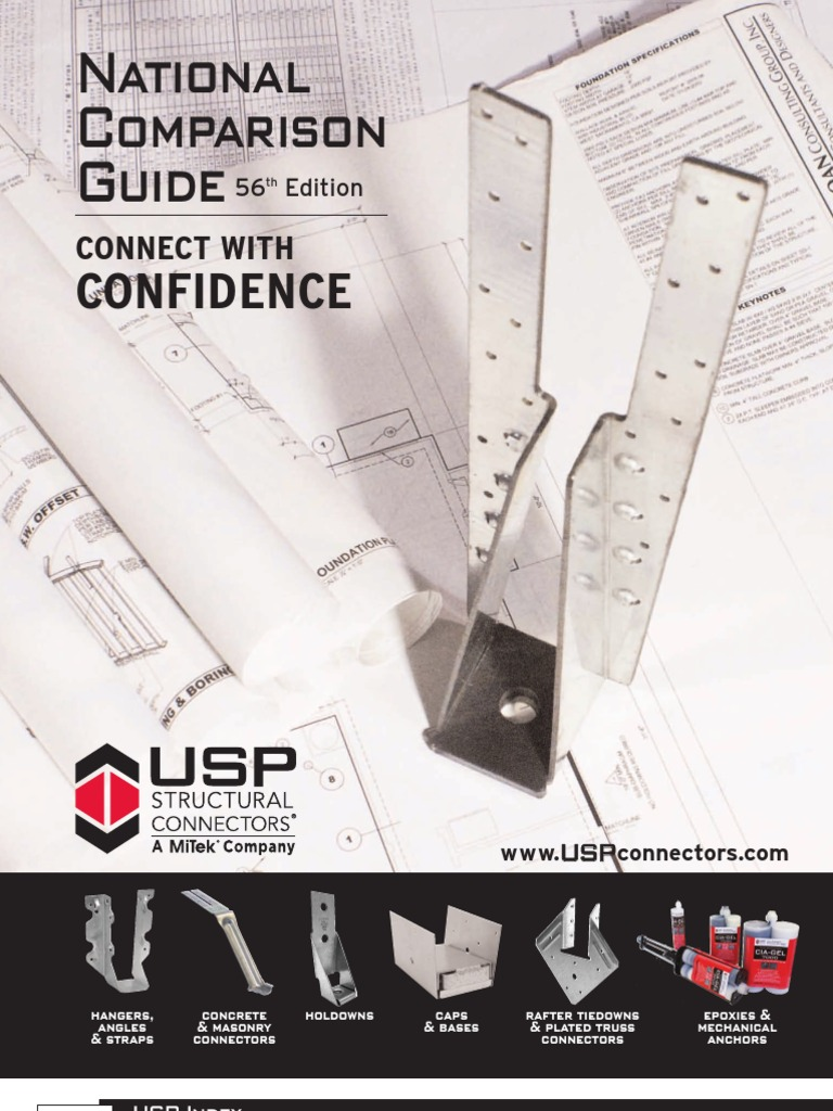 USP-2012 Structural Connectors Guide