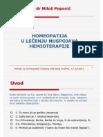 Homeopatija u Lecenju Nuspojava Hemioterapije M Popovic