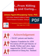 TB/HIV...From Killing, to caring and curing