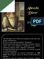 Patratul Magic,Al Lui Albrecht Durer