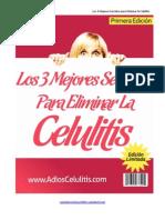 Los 3 mejores secretos para eliminar la celulitis
