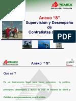 Anexo S y Supervision de Contratistas