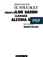 100870549 Michel Foucault Herculine Barbin Llamada Alexina B Marcado