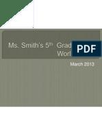 smith class presentation