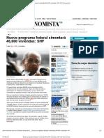 07-03-12 Nuevo programa federal cimentará 46,000 viviendas