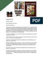 Dolmen Editorial / MAR 2013